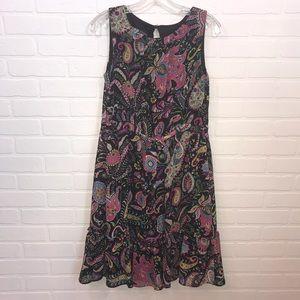 I.N. Studio Dress Sz 6 Sleeveless Floral Lined